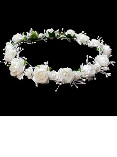 Lovely Flower Wedding Flower Girl Wreath (042025222)