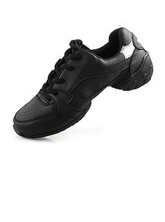 De mujer Cuero Planos Zapatillas Entrenamiento Zapatos de danza