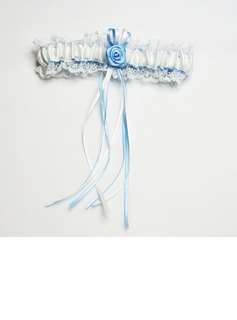 Rose Bridal Garter With Elegant Ribbons (104019302)