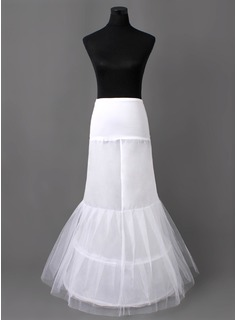 Nylon Mermaid og trompet kappe 2 Tier fotsid Slip stil / Wedding Petticoats (037005406)