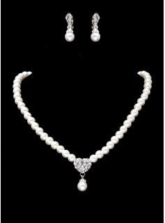Jewelry Sets Birthday Gift Party Jewelry With Pearl (011017852)