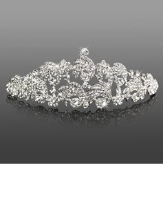 Headpieces (Gorgeous Clear Crystals Wedding Bridal Tiara 042005468)
