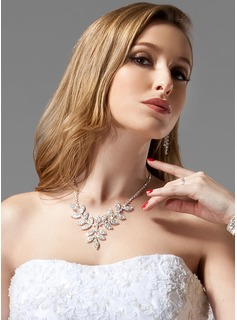 Jóias (Gorgeous Alloy With Czech Rhinestones Wedding Bridal Jewelry)