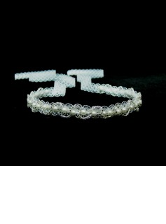 Simple Lace With Imitation Pearl Women's Headbands (042025239)