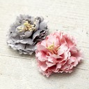 Beautiful Silk Flower Combs & Barrettes (Sold in single piece) (042068907)