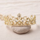 Beautiful Rhinestone/Alloy/Imitation Pearls Tiaras (042092280)
