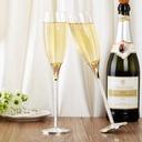 personalisé Beaux Oiseaux Verre/Aluminium Flûtes à champagne (Lot de 2) (126039783)
