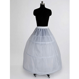 Nylon 2 Tier Floor-length A-Line Full Gown Slip Style/ Wedding Petticoats (037023567)