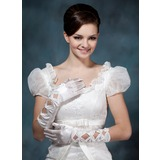 Elastic Satin Gloves (014020480)