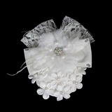 Beautiful Pearl Lace Flowers Hair Jewelry