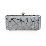 Gorgeous Silk Shell Evening Handbags/ Clutches More Colors Available  (012012259)