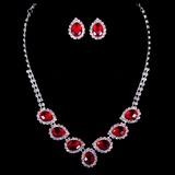 Atractivo Crystal Señoras' Sistemas de la joyería
