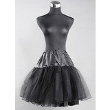 Half Slip Nylon Short Length Women Wedding Petticoats (037024158)