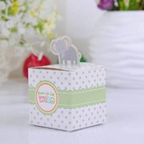 Lovely Elephant Cubic Favor Boxes (Set of 12)