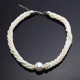Clásico Aleación con Perla Señoras' Collares
