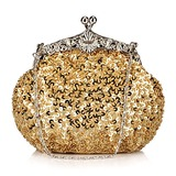Shining Satin with Sequins Evening Handbag/Clutches(More Colors)(012025172)