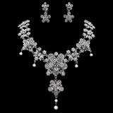 Einzigartige Legierung/Strasssteine mit Perle Damen Schmuck Sets