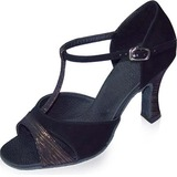 Suede Heels Sandals Latin Dance Shoes (053021999)