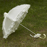 Beautiful Terylene/Lace Wedding Umbrellas (124036967)