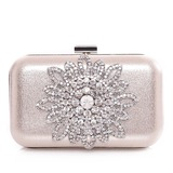 Fashional Satin/Metal Clutches