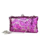 Lovely Sparkling Glitter With Rhinestone Clutches