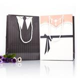 Smoking & Abendkleid Geschenktaschen (Satz von 12)
