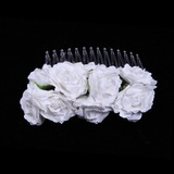 Schöne Papier Blumen Mädchen Kopfstück