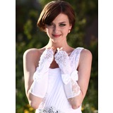Satin Elbow Length Bridal Gloves