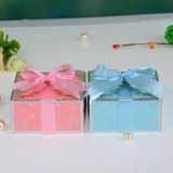Nice Cuboid Favor Boxes With Ribbons (Set of 12)