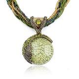 Exotisch Legierung mit Strass/Perlen/Opal Frauen Halsketten