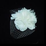 Glamour Satiné/Tulle Chapeaux de type fascinator