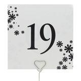 Design de fleur Papier Nacre Cartes porte-nom (Lot de 10)