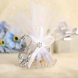 Diseño Cisne Cajas de regalos con Cintas (Juego de 12)