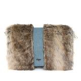 Mode Stoff mit Pelz Handtaschen/Mode-Hand