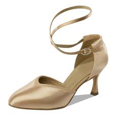 De mujer Satén Tacones Salón Estilo Moderno con Tira de tobillo Zapatos de danza