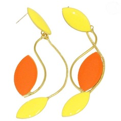 Exotic Alloy Coloured Glaze Women's Fashion Earrings