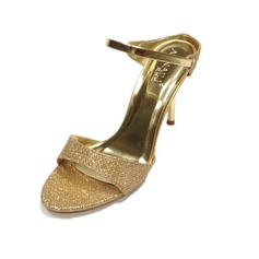 Mousserende Glitter Stiletto Hæl sandaler Pumps Slingbacks sko
