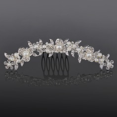 Alloy med rhinestones Wedding Hair kam (042016804)