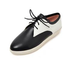 Kvinnor Konstläder Flat Heel Platta Skor / Fritidsskor med Bandage skor