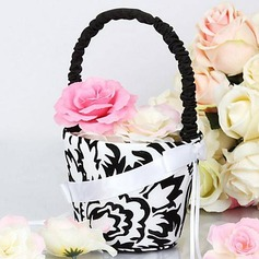 Damask Design Flower Girl Basket(102018044)