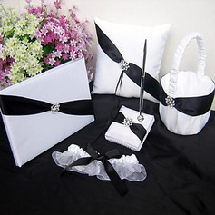 Shimmering Twilight Wedding Collection Set in White and Black Accent (5 Pieces)(100017956)