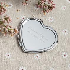 Personaliseret Rustfrit Stål Compact Mirror (Sæt af 4)