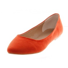 Suede Flat Heel Flats Closed Toe shoes