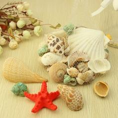 Tema de la playa Estrellas de mar y Concha Accesorios decorativos