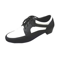 Men's Real Leather Heels Latin Modern Ballroom Dance Shoes