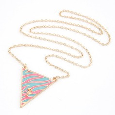 Beautiful Alloy Resin Ladies' Fashion Necklace