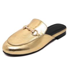 Women's Leatherette Flat Heel Flats Slippers shoes
