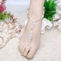 Plastics Glass Foot Jewellery Accessories