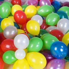 Kleurrijk Ballon (set van 100)