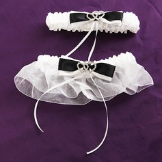 Deluxe Loving Hearts Wedding Garters(Set of 2) (104019517)